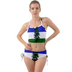 Flag Of Cascadia Mini Tank Bikini Set