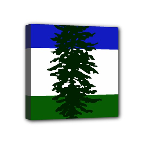 Flag 0f Cascadia Mini Canvas 4  X 4