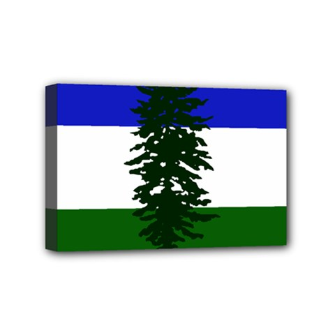 Flag 0f Cascadia Mini Canvas 6  X 4