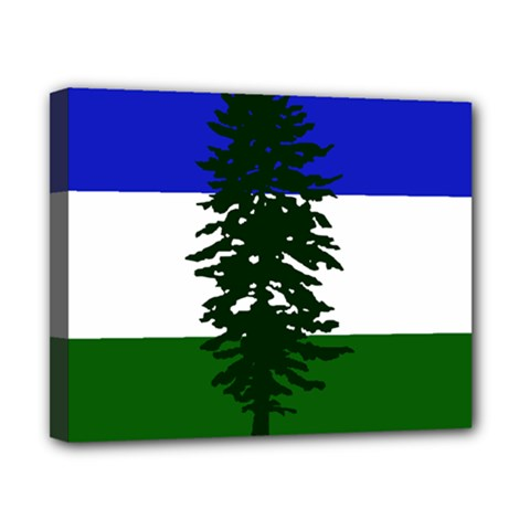 Flag 0f Cascadia Canvas 10  X 8