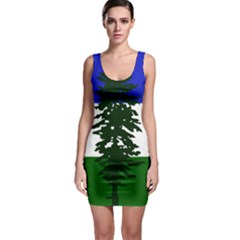 Flag 0f Cascadia Bodycon Dress