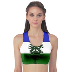 Flag 0f Cascadia Sports Bra