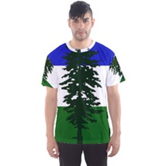 Flag 0f Cascadia Men s Sports Mesh Tee