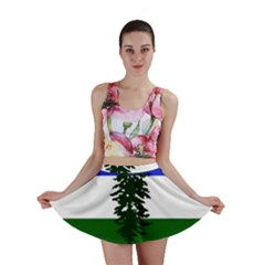 Flag 0f Cascadia Mini Skirt