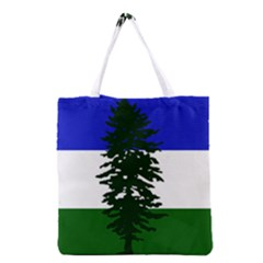Flag 0f Cascadia Grocery Tote Bag
