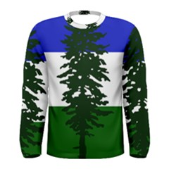 Flag 0f Cascadia Men s Long Sleeve Tee