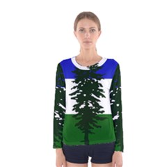 Flag 0f Cascadia Women s Long Sleeve Tee