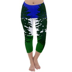 Flag 0f Cascadia Capri Winter Leggings