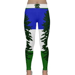 Flag 0f Cascadia Classic Yoga Leggings