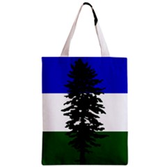 Flag 0f Cascadia Zipper Classic Tote Bag