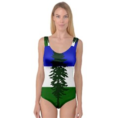 Flag 0f Cascadia Princess Tank Leotard