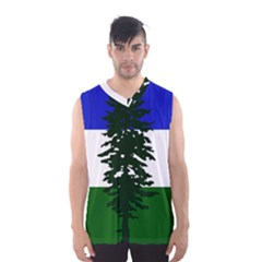 Flag 0f Cascadia Men s Basketball Tank Top