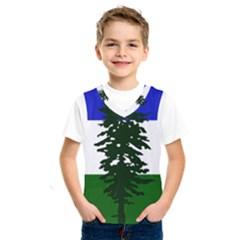 Flag 0f Cascadia Kids  Sportswear