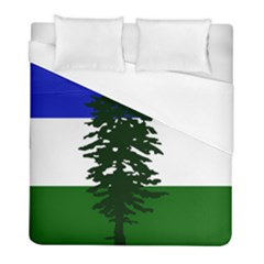 Flag 0f Cascadia Duvet Cover (full/ Double Size)