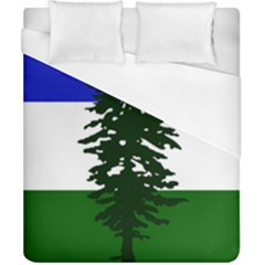 Flag 0f Cascadia Duvet Cover (california King Size)