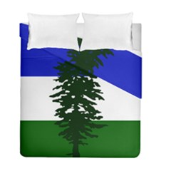Flag 0f Cascadia Duvet Cover Double Side (full/ Double Size)