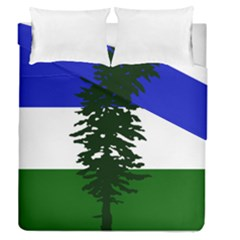 Flag 0f Cascadia Duvet Cover Double Side (queen Size)