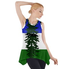 Flag 0f Cascadia Side Drop Tank Tunic