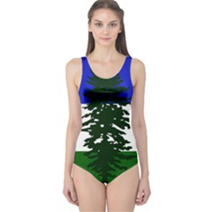Flag 0f Cascadia One Piece Swimsuit