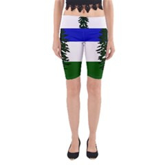 Flag 0f Cascadia Yoga Cropped Leggings