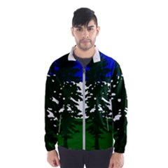 Flag 0f Cascadia Wind Breaker (men)