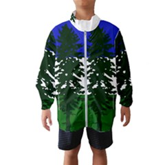 Flag 0f Cascadia Wind Breaker (kids)