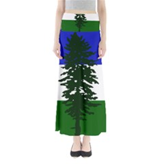 Flag 0f Cascadia Full Length Maxi Skirt