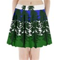 Flag 0f Cascadia Pleated Mini Skirt View1