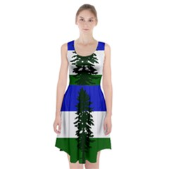 Flag 0f Cascadia Racerback Midi Dress