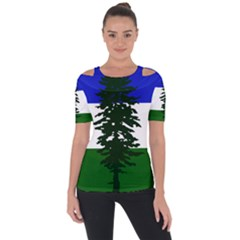 Flag 0f Cascadia Short Sleeve Top