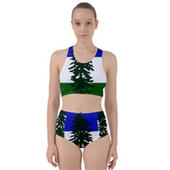 Flag 0f Cascadia Racer Back Bikini Set