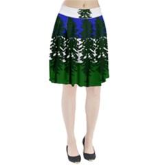 Flag 0f Cascadia Pleated Skirt