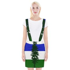 Flag 0f Cascadia Braces Suspender Skirt