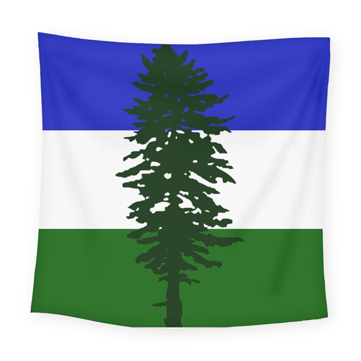 Flag 0f Cascadia Square Tapestry (Large)