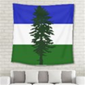 Flag 0f Cascadia Square Tapestry (Large) View2