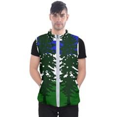 Flag 0f Cascadia Men s Puffer Vest
