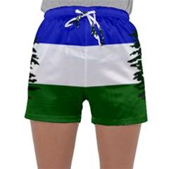 Flag 0f Cascadia Sleepwear Shorts