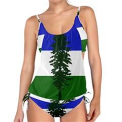 Flag 0f Cascadia Tankini Set
