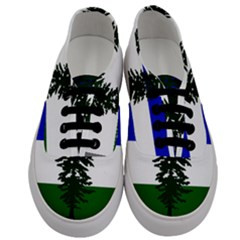 Flag 0f Cascadia Men s Classic Low Top Sneakers