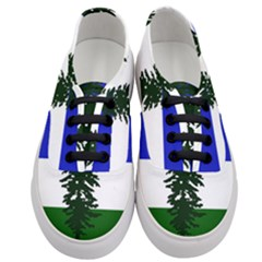 Flag 0f Cascadia Women s Classic Low Top Sneakers