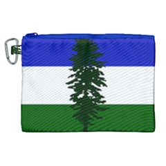 Flag 0f Cascadia Canvas Cosmetic Bag (xl)