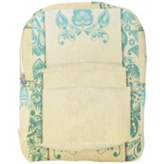 Art Nouveau Green Full Print Backpack