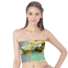 Embrace Shabby Chic Collage Tube Top