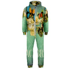 Embrace Shabby Chic Collage Hooded Jumpsuit (men)