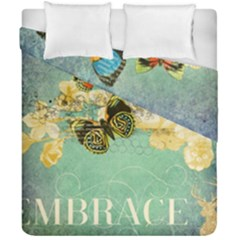 Embrace Shabby Chic Collage Duvet Cover Double Side (california King Size)