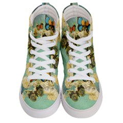 Embrace Shabby Chic Collage Men s Hi Top Skate Sneakers