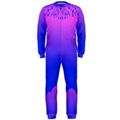 Abstract Bright Color Onepiece Jumpsuit (men)