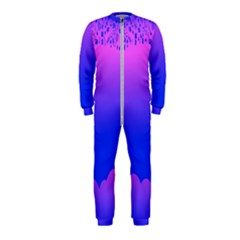 Abstract Bright Color Onepiece Jumpsuit (kids)