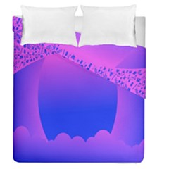 Abstract Bright Color Duvet Cover Double Side (queen Size)