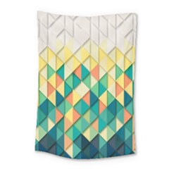 Background Geometric Triangle Small Tapestry